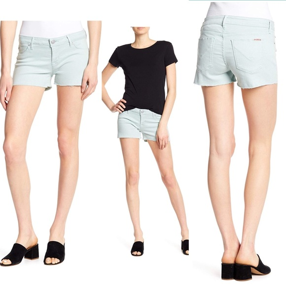2b51d1b9f9 Hudson Jeans Shorts   Hudson Amber Cutoff Denim Lgreen Womens   Poshmark